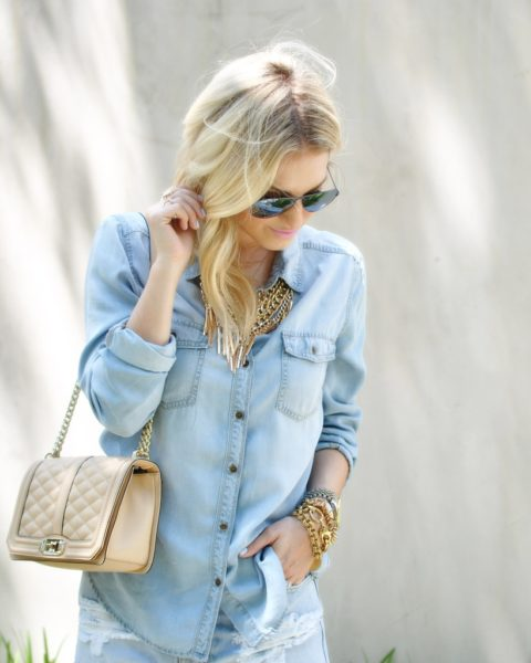 Chambray Shirt Styling