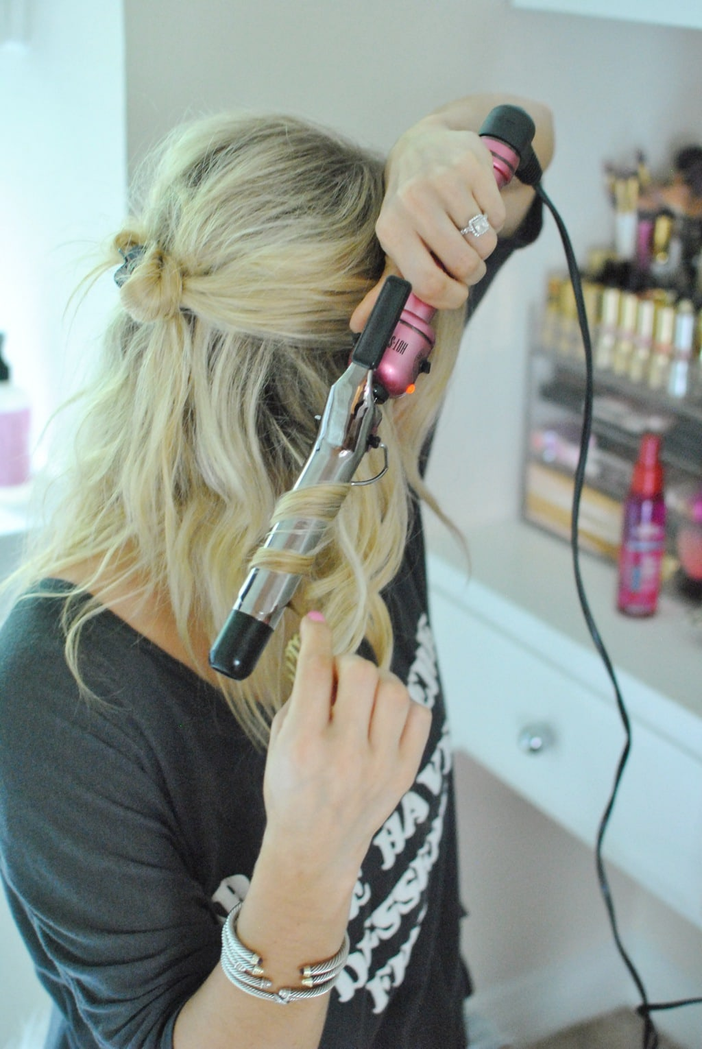 hair i will curl normally like in this hair tutorial
