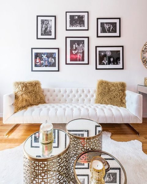 Get The Look: Glam Living Room