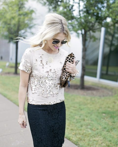 Sequins with a Skirt