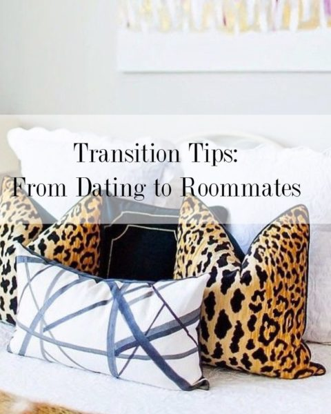 Transition Tips: From Dating to Roommates