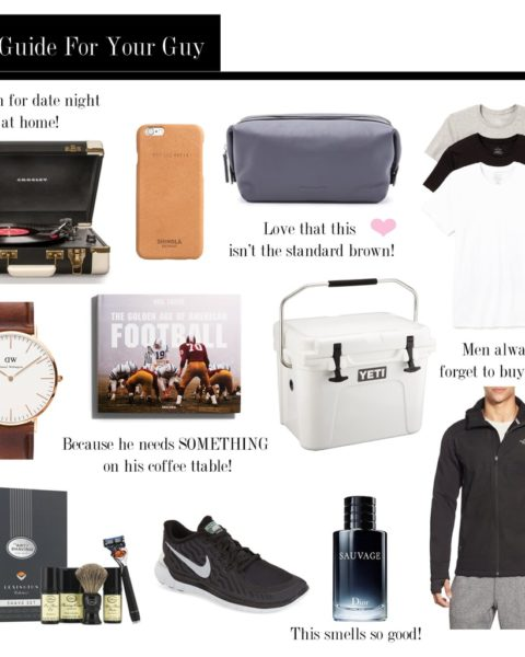 Gift Guide: For Your Guy