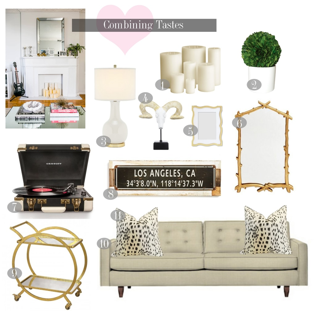 How To Compromise on Home Decor   Chronicles of Frivolity