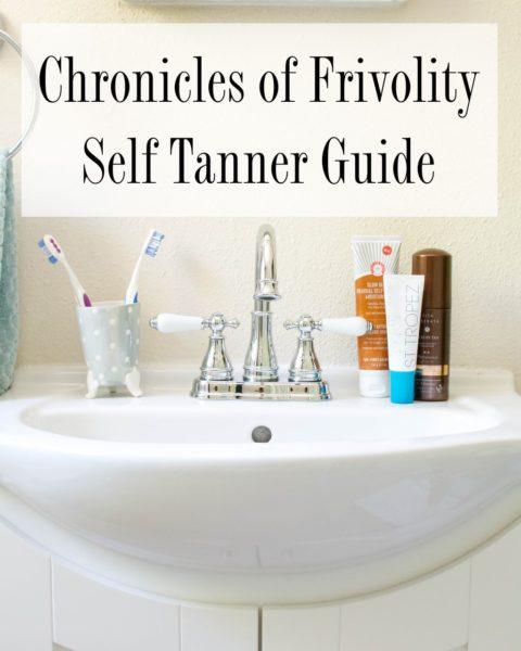 Self Tanner Guide