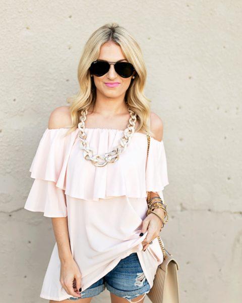 Breezy Pink Top