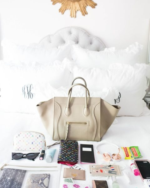 What's in my Bag? Fashion Week Edition