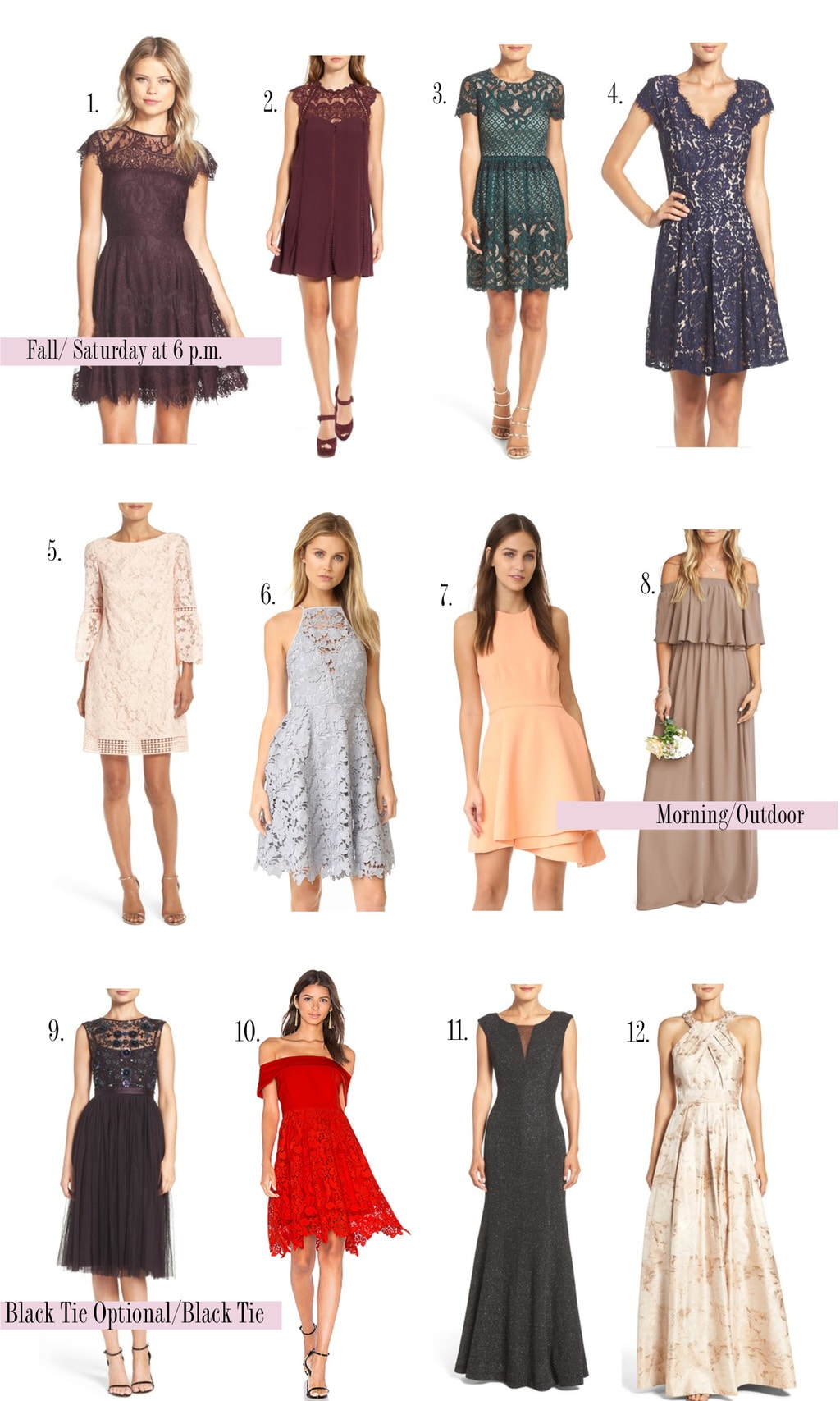 What to Wear to a Wedding   Chronicles of Frivolity