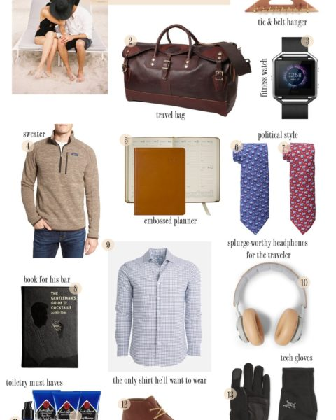 Gift Guide for your Beau