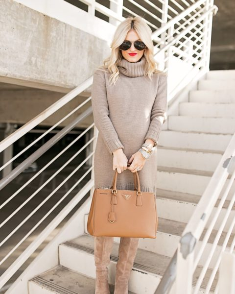 Sweater Dress Now & Style Later