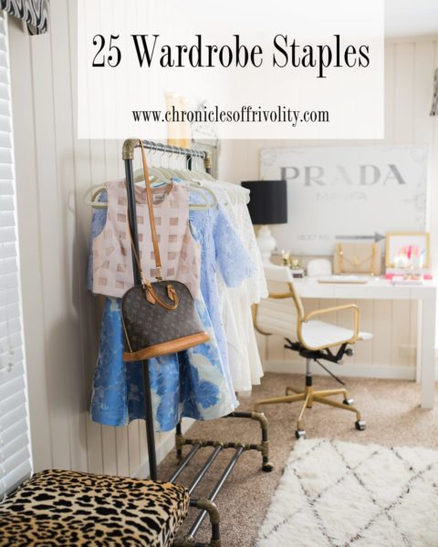 25 Wardrobe Staples