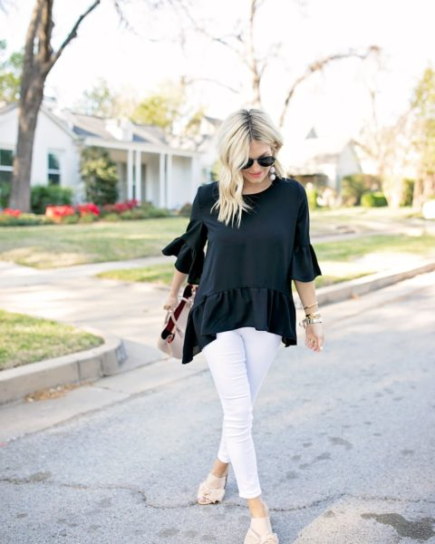 Ruffle Top Under $45