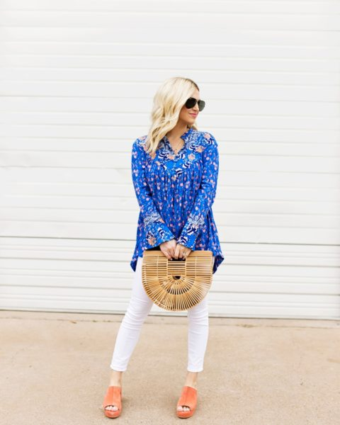 Peasant Blouse for Spring