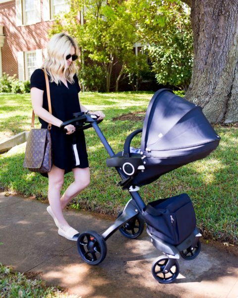 Two Months with Maxi: Her Schedule & Stokke Stroller Review