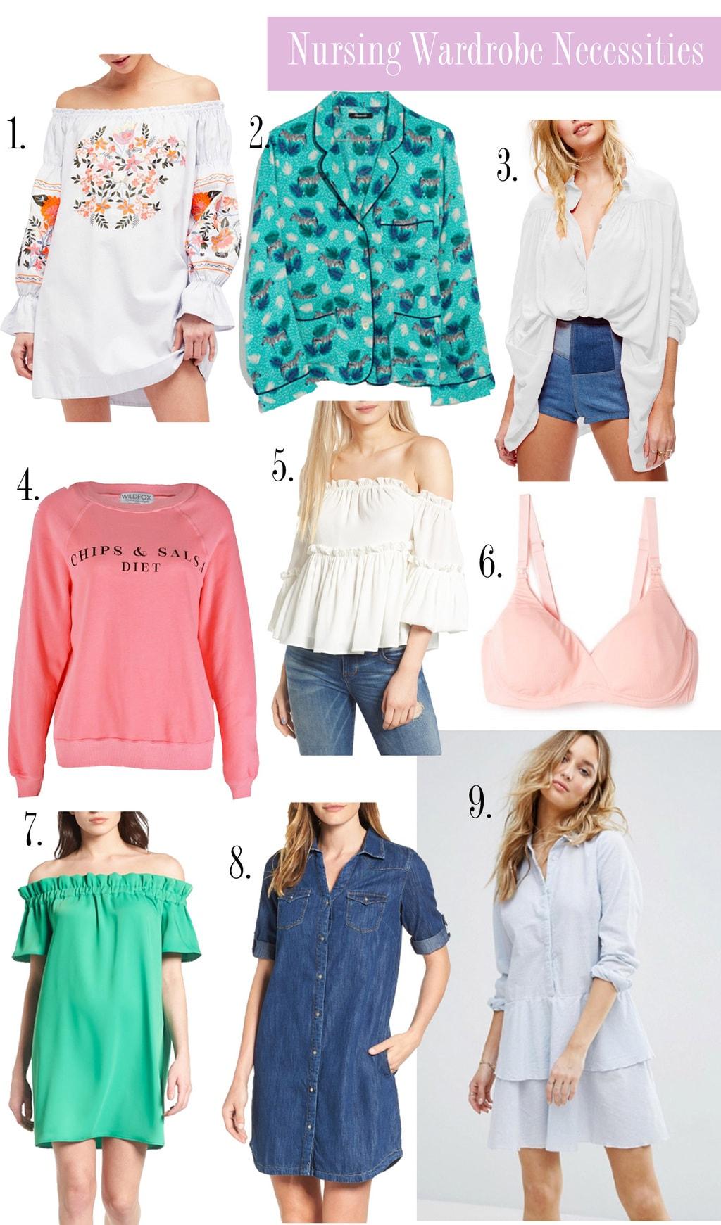 what to wear breastfeeding