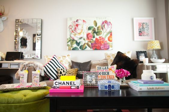 girl apartment home style