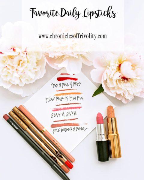 Favorite Daily Lipsticks