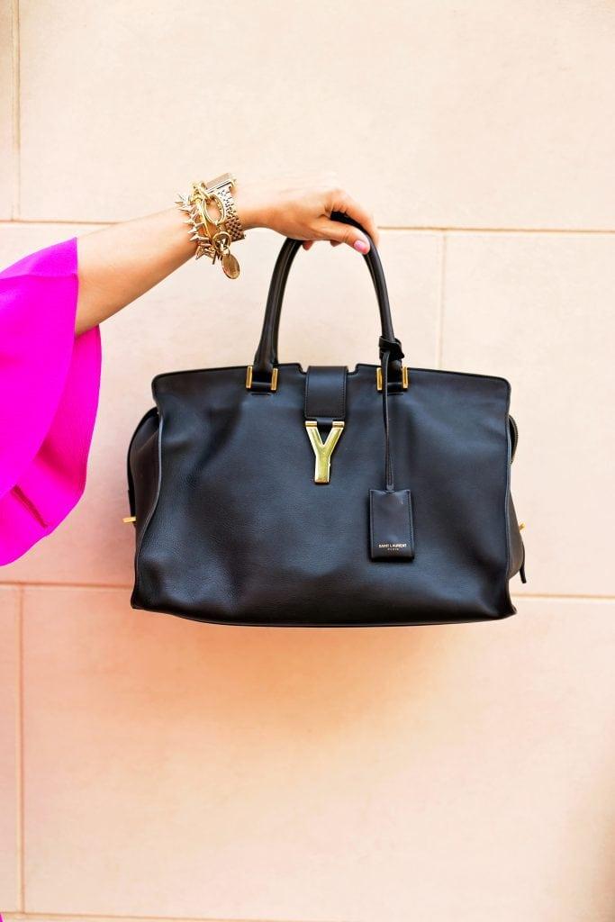 YSL Cabas Y Bag