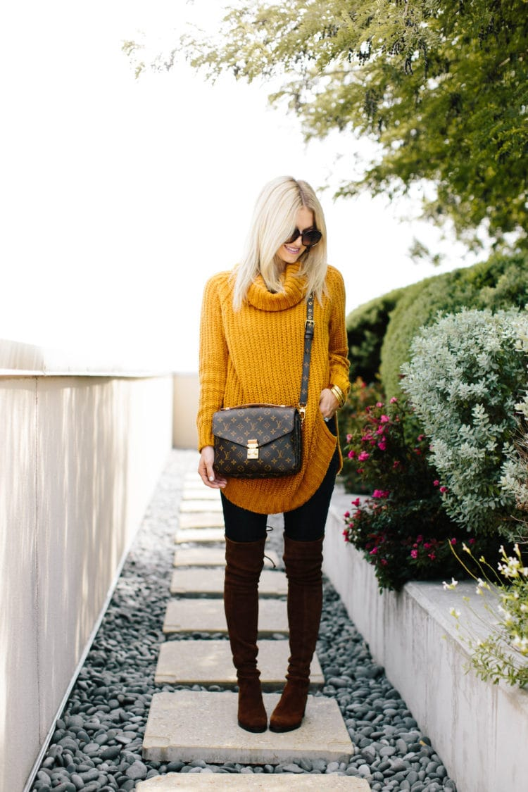Cozy Sweater + Best Jeans for Boots