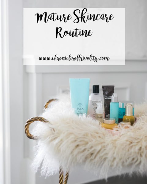 Mature Skincare Routine