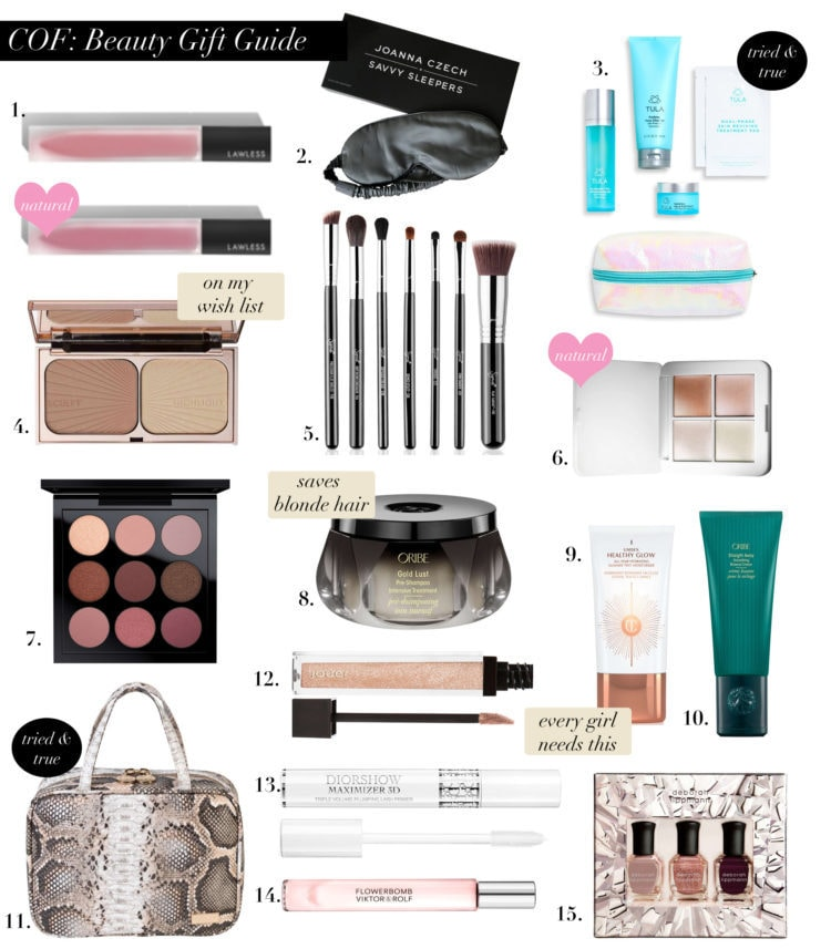 HOLIDAY GIFT GUIDE: for the beauty queen
