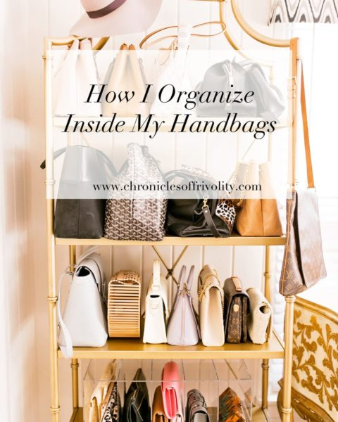 How I Organize Inside My Handbags