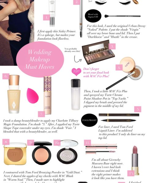 Wedding Makeup Must Haves