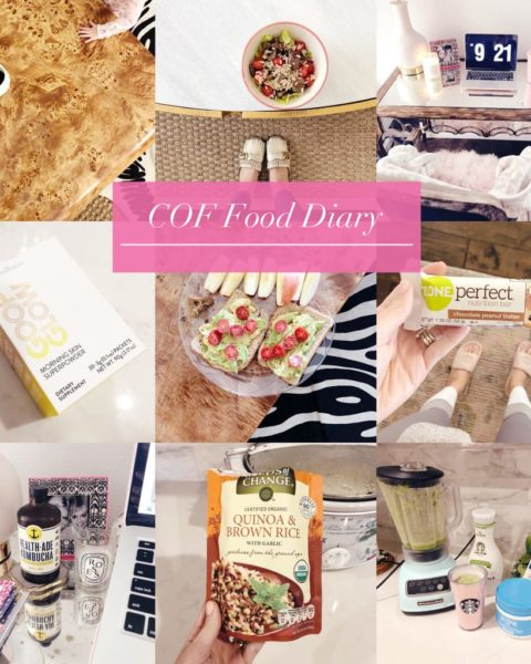 3-Day Food Diary