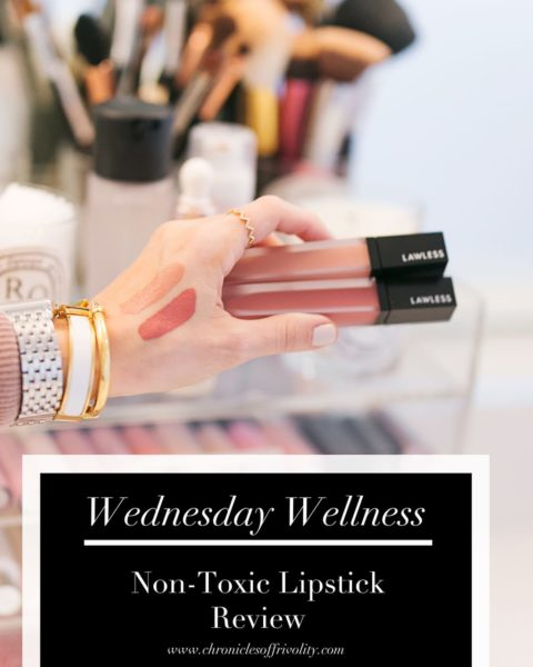 Wednesday Wellness: Non-Toxic Lipstick Review
