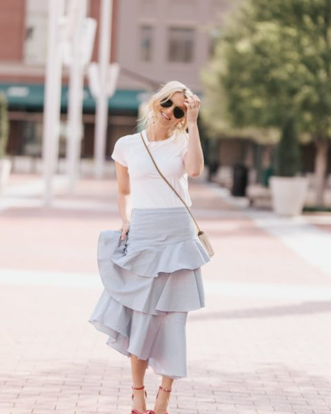 Spring Skirt to Take into Summer