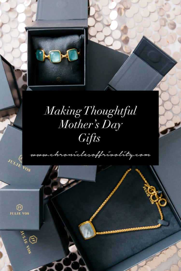 Making Thoughtful Mother's Day Gifts