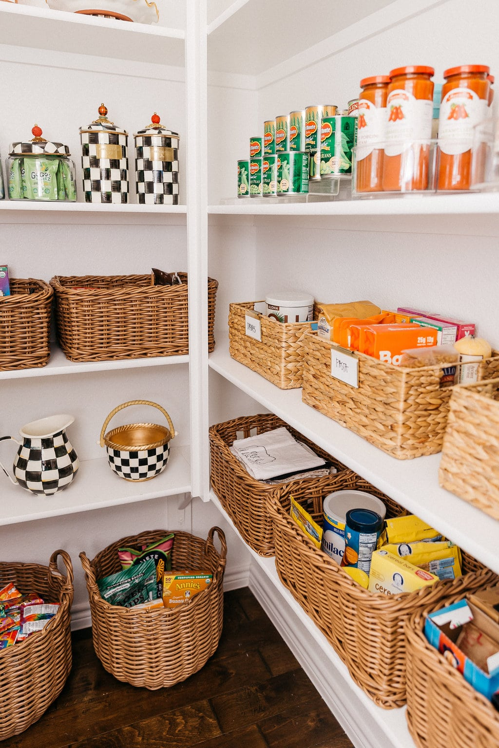 How To Organize An L Shaped Pantry Chronicles Of Frivolity