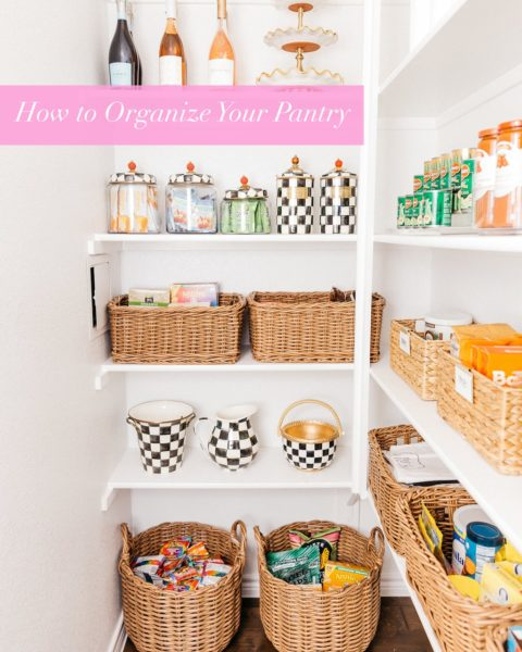 How to Organize an L-Shaped Pantry