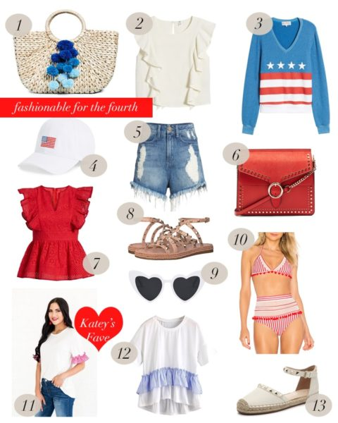 Fashionable for the 4th of July