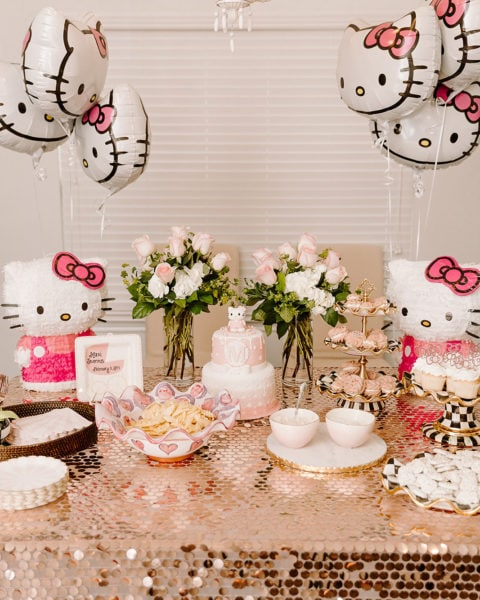 Maxi's Hello Kitty Birthday Party + 18-Month-Old Favorite Toys