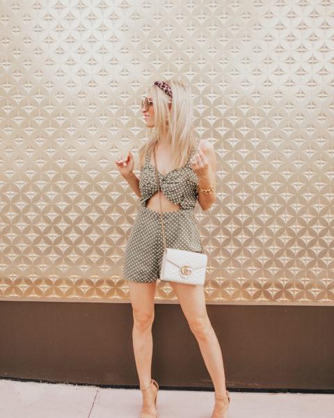 Flirty Romper + Target Find