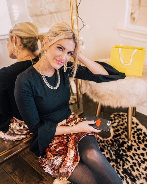 Holiday Outfit Idea with Kendra Scott + Holiday GNO Ideas