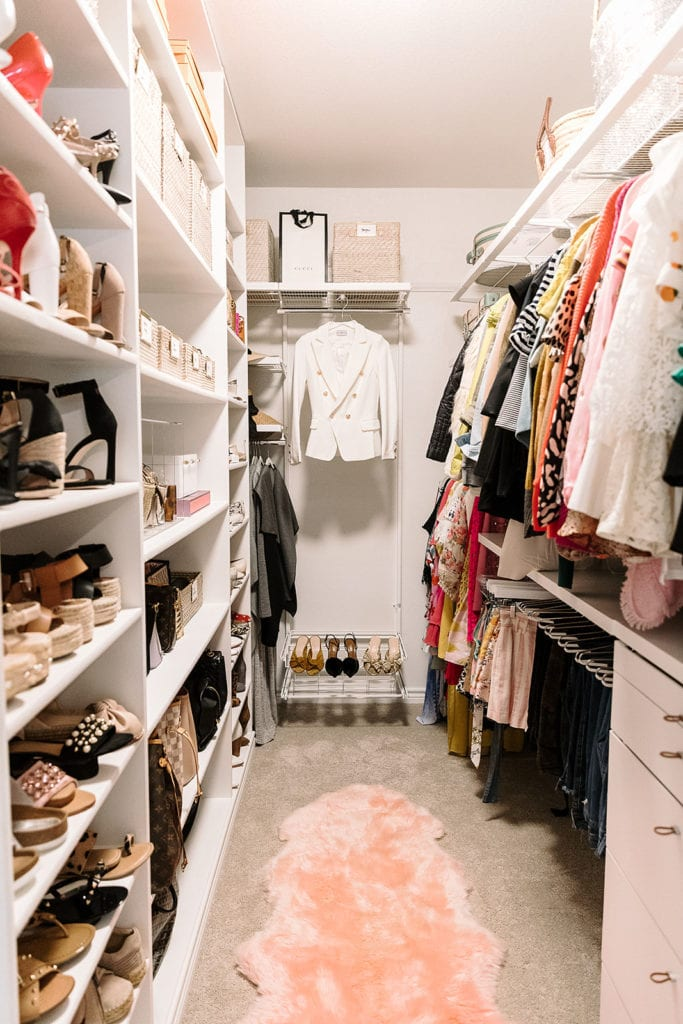 I Kept Promising To Share My Closet But Each Time Organized Or Reorganized Would Think Of A New Way That Could Make It