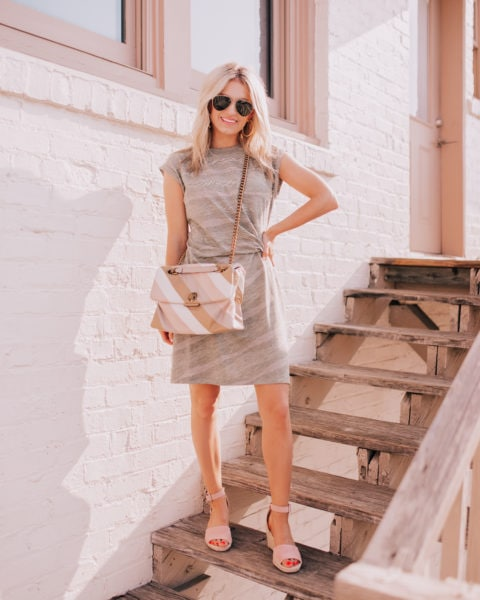 My Cotton Dress for 2019 + Spring Bag