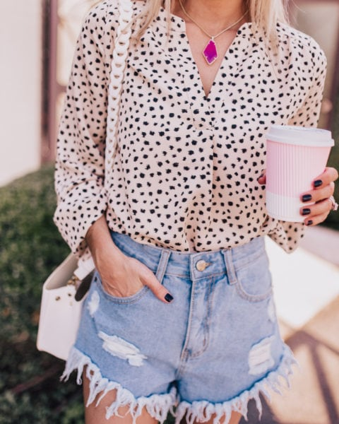 How to Style Work Blouses on the Weekend