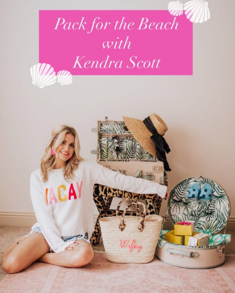 Pack for the Beach with Kendra Scott