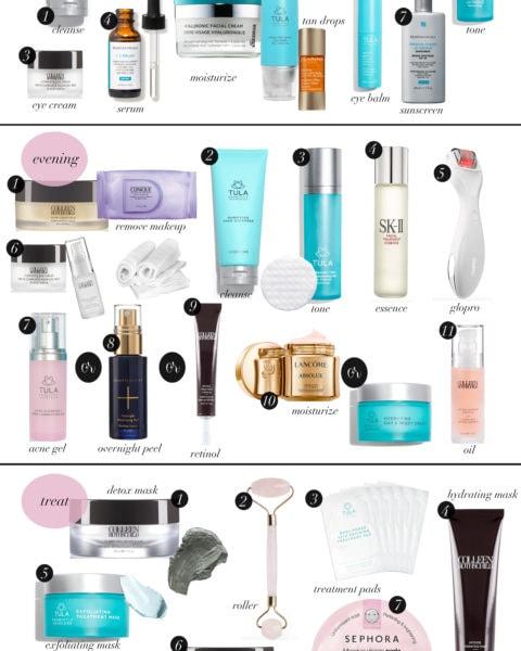 Spring 2019 Skincare Routine