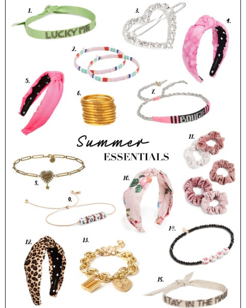 Add These Summer Accessories