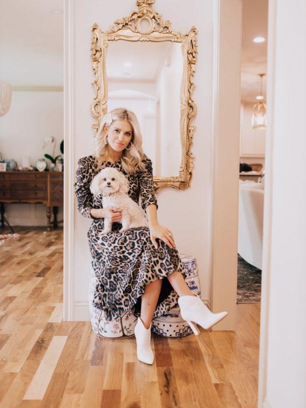 Eliza J Leopard Dress