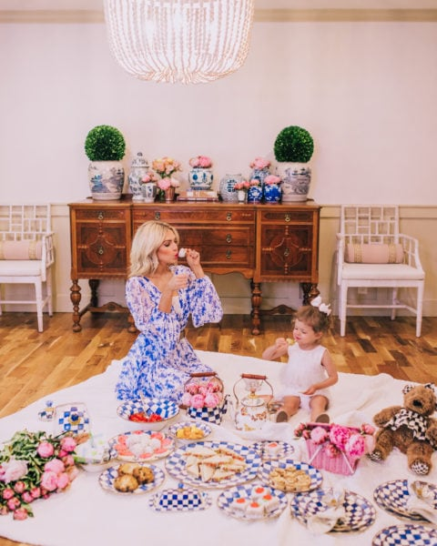 A Toddler Tea Party to Celebrate Royal Check
