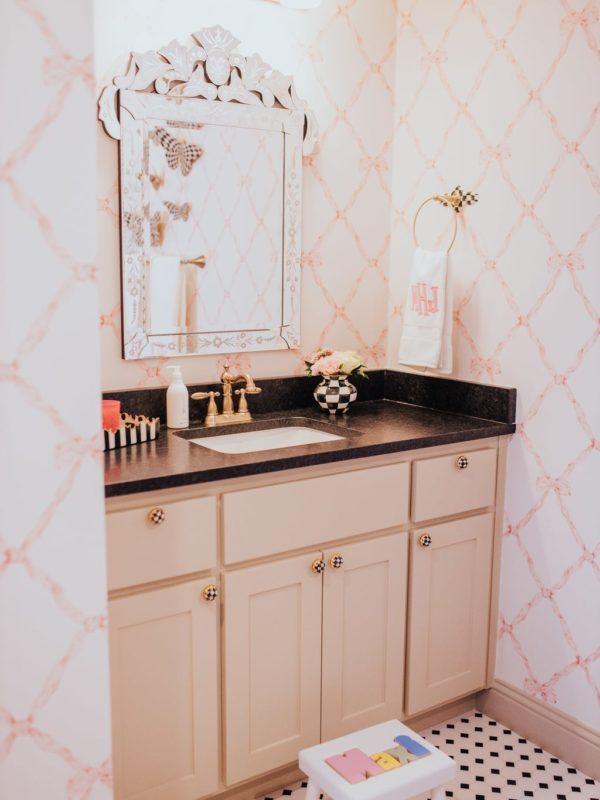 Toddler Girl Bathroom Before + After