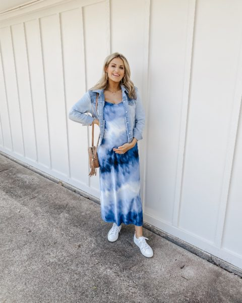March OOTD – Styling a Slip Dress