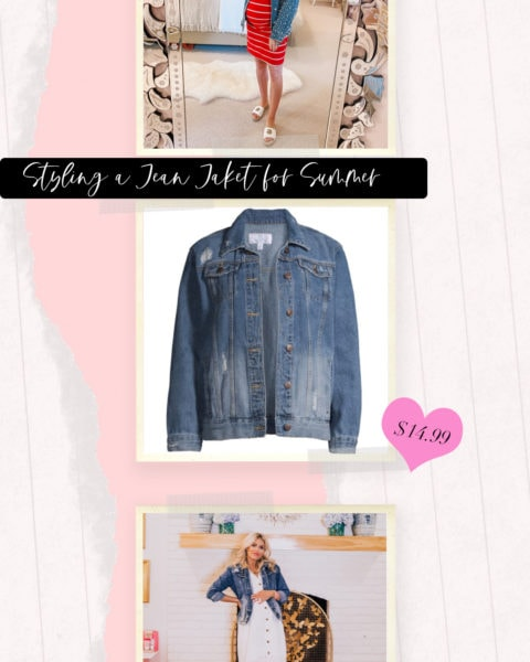 Styling a Jean Jacket for Summer