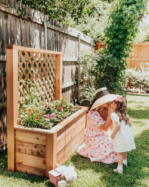 Making a Garden for Your Toddler