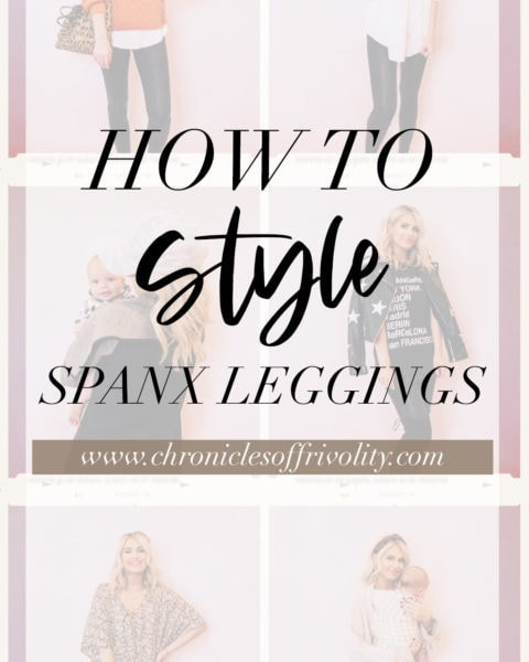 How to Style Spanx Leggings