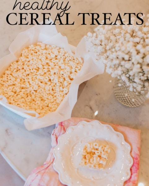 Healthy Cereal Treats